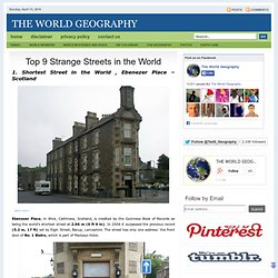 Top 9 Strange Streets in the World - StumbleUpon