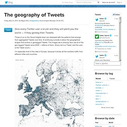 he geography of Tweets