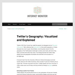 Twitter's Geography: Visualized and Explained