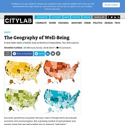 The Geography of Well-Being