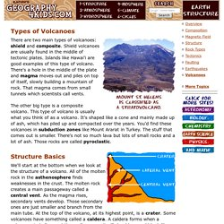 Earth Structure: Volcanoes