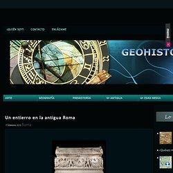 Un entierro en la antigua Roma : GEOHISTORIA. Apuntes Historia, Ciencias Sociales y Arte elaborados por Sira Jara