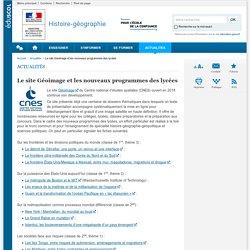 Le site Géoimage et les nouveaux programmes des lycées-Histoire-géographie-Éduscol