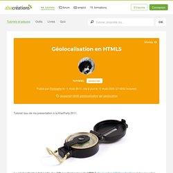 Géolocalisation en HTML5 - Alsacreations