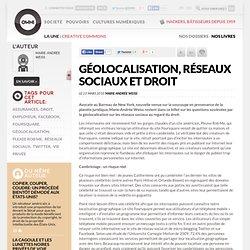 Géolocalisation, réseaux sociaux et droit » Article » OWNI, Digital Journalism