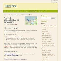Plugin de géolocalisation et cartographie - Librox blog