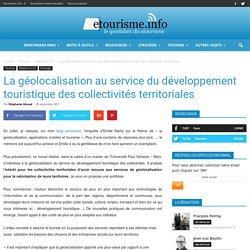 La géolocalisation au service du développement touristique des collectivités territoriales