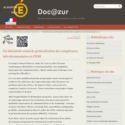 Un laboratoire social de géolocalisation des compétences info-documentaires et d'EMI