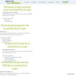 Eco & Logic - L'étude comportementale de conduite - La géolocalisation avec Eco & Logic - iStar et FleetEco