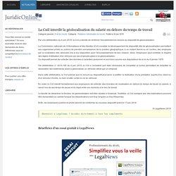 La Cnil interdit la géolocalisation du salarié en dehors du temps de travail - JURIDICONLINE