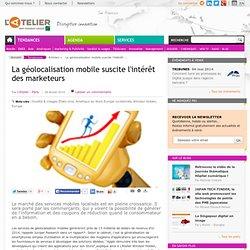 La géolocalisation mobile suscite l'intérêt des marketeurs