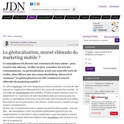 La géolocalisation, nouvel eldorado du marketing mobile ?