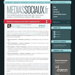 Médias sociaux > Comment les marques peuvent utiliser la géolocalisation ?