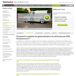 Géolocalisation gps - TomTom Telematics BE