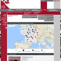 Géolocaliser une librairie labellisée - LiR - un label de Référence - Libraire - Site internet du Centre national du livre