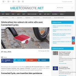 Géolocalisez les voleurs de votre vélo avec Connected Cycle