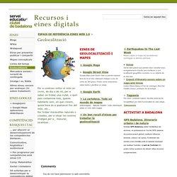 Geolocalització - Recursos i eines digitals