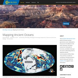 Mapping Ancient Oceans - GeoLog incl tectonic plates animation