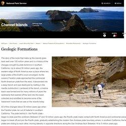 Geologic Formations - Channel Islands National Park (U.S. National Park Service)