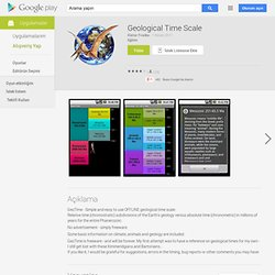 Geological Time Scale - AndroidMarket