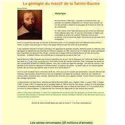 LA GEOLOGIE DU MASSIF DE LA SAINTE BAUME