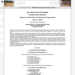 Géologie de la Lorraine : Annexes scientifiques