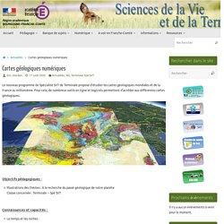 Cartes géologiques numériques
