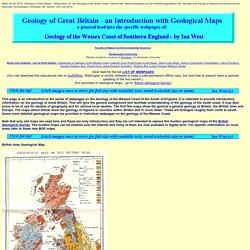 Geology of Great Britain - Introduction and maps - by Ian West