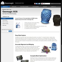 Geomagic XOS (formerly Rapidform XOS)