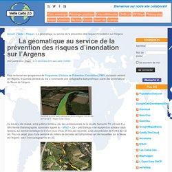 La géomatique au service de la prévention des risques d'inondation sur l'Argens