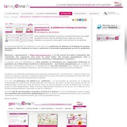 geomayenne.fr, la plateforme d'échange de données géographiques