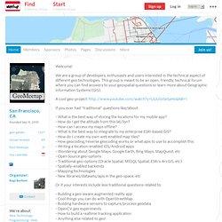 GeoMeetup (San Francisco, CA