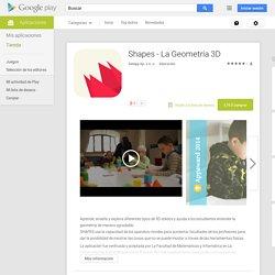 Shapes - La Geometría 3D - Aplicaciones de Android en Google Play