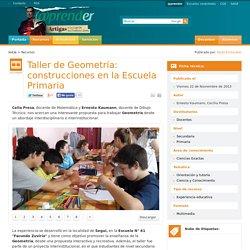 Taller de Geometría: construcciones en la Escuela Primaria