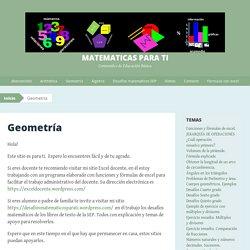 matemáticas para ti