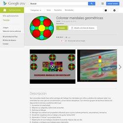 Colorear mandalas geométricas