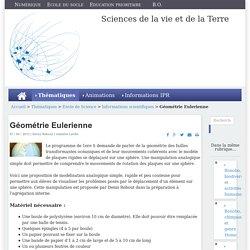 Géométrie Eulerienne