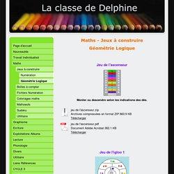 Géométrie Logique - laclassededelphines jimdo page!