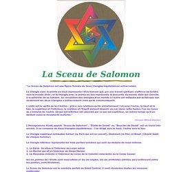 Géométrie Sacrée - Sceau de Salomon - Sacred Geometry