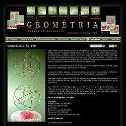 Géométria propose des formes géométriques à trois dimensions tirées de la géométrie sacrée, orgonite et orgone.