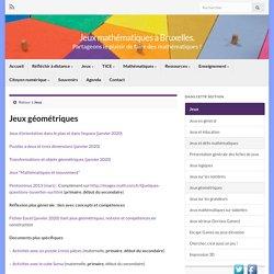 Jeux géométriques – Jeux mathématiques à Bruxelles.
