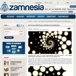 GIFs fractals géométriques hypnotiques et psychédéliques - Zamnesia