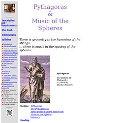 Pythagoras and Music of Life