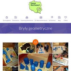 Bryły geometryczne - Edukacja Domowa Montessori