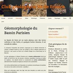 Géomorphologie du Bassin Parisien