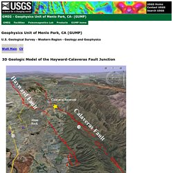 Geophysics Unit of Menlo Park-GUMP