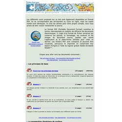 Cours online de géophysique - Université de Lausanne - télécharger