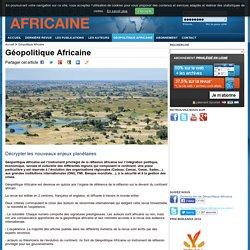 Géopolitique Africaine