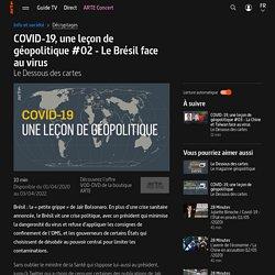 COVID-19, une leçon de géopolitique #02 - Le Brésil face au virus - Le Dessous des cartes