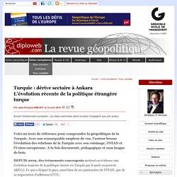 Géopolitique. Dérive sectaire en Turquie ? J-F Drevet - Pays candidats